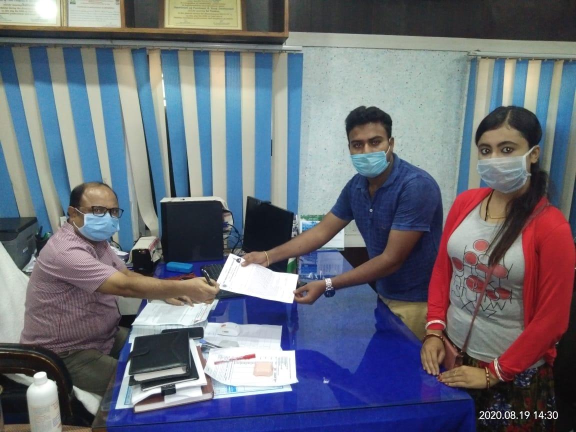 নারী নির্যাতনের বিরুদ্ধে প্রতিবাদে অখিল ভারতীয় বিদ্যার্থী পরিষদ