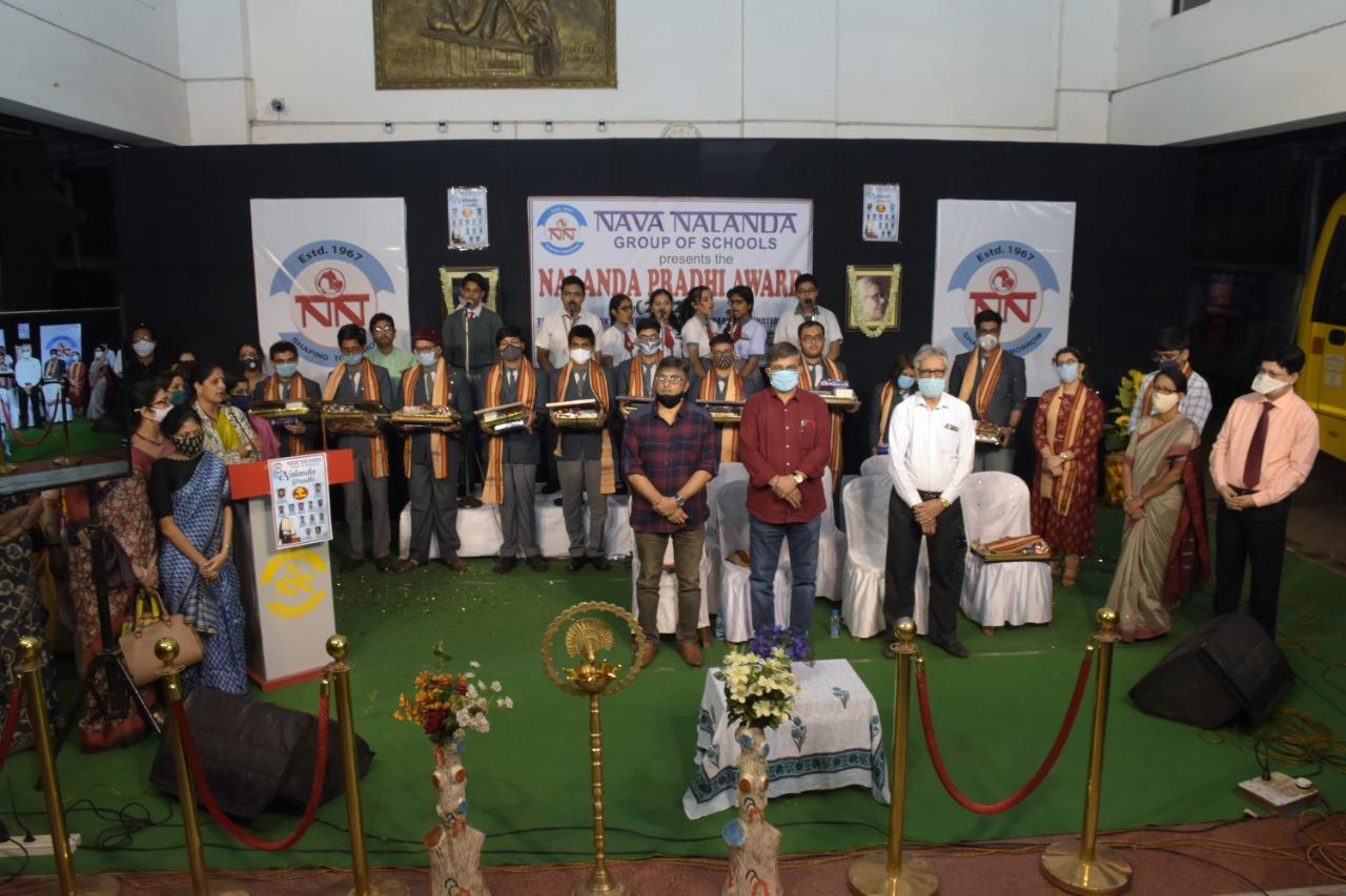 'নালন্দা প্রধী' প্রদান ছাত্রছাত্রীদের
